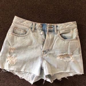 Pants - H&M jean shorts